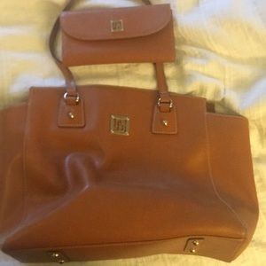 Dooney & Bourke Tot and Clutch Wallet